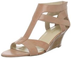 Nude leather sandals. Dressy enough for work, but perfect for everyday Florida life! :)