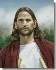 Love this Liz Lemon Swindle painting of Christ