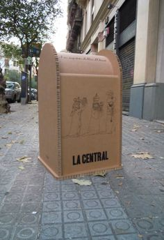 Buzón de cartas para los Reyes Magos, para Librería La Central