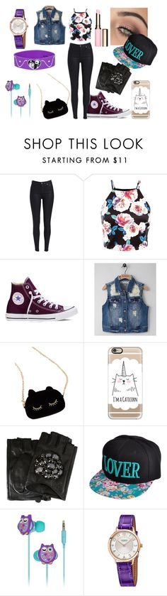 """""""calor españa *6"""" by florchipaez ❤ liked on Polyvore featuring beauty, Converse, RWH by Rewash, WithChic, tarte, Casetify, Karl Lagerfeld, KitSound, Hermès and Clarins"""