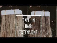 DIY Hair Tape Extensions - Master Hairdresser Johanna Z Hair Extensions Tutorial, Luxy Hair Extensions, Colored Hair Extensions, Hair Extensions For Short Hair, Tape In Hair Extensions, Hair Color Placement, Hair Tape, Hair Magazine