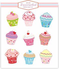 cupcake art - Google Search