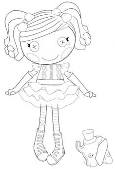 """coloring sheets perfect for Katlyn, cause anyone who knows little miss knows that she has a slight obsession with her """"loopsy"""" dolls!"""