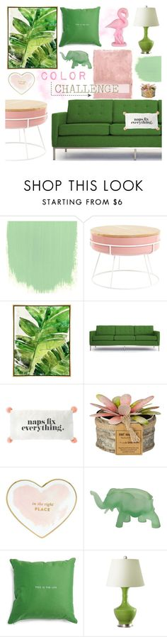 """""""This is the life"""" by southernpearldesigns ❤ liked on Polyvore featuring interior, interiors, interior design, home, home decor, interior decorating, Rothko, Barclay Butera, Joybird and Kate Spade"""