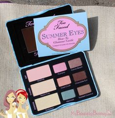 Too Faced Summer Eyes Palette #bbloggers #beauty #makeup #summer #crueltyfree #toofaced #bbcoalition