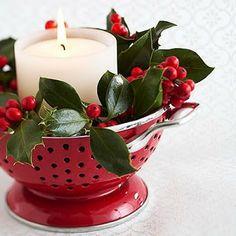 Ideas para decorar la Cocina en Navidad
