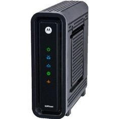 Motorola SB6121 SURFboard DOCSIS 3.0 Cable Modem, (cable modem, motorola, high speed, broadband, surfboard, internet, meob network, modem, meob spares)