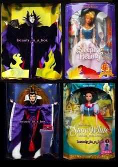 Maleficent Evil Queen No Boxes Sleeping Beauty Disney Great Villains Barbie Doll 074299204890 | eBay