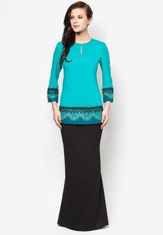 Buy Jovian Mandagie for Zalora Chantilly Clara Baju Kurung | ZALORA Malaysia