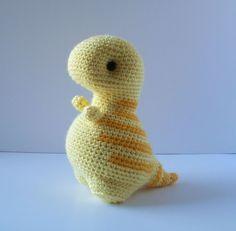 Cute amigurumi dinos :)