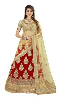 Lehenga Choli - Buy breathtaking lehenga choli design for wedding, party or festive occasions online from Cbazaar's latest collection of bridal, party, and festive wear lehenga. Choli Designs, Lehenga Designs, Gold Lehenga, Lehenga Online, Lehenga Style, Ghagra Choli, Fashion Design Sketches, Plus Size Designers, Embroidered Silk