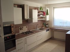 Poradca:  Miroslava Barčinová - kuchyňa ELIS Kitchen Cabinets, Home Decor, Decoration Home, Room Decor, Cabinets, Home Interior Design, Dressers, Home Decoration, Kitchen Cupboards