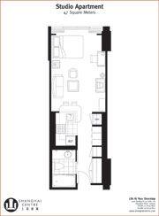 Studio Apartment Floor Plans 400 Sq Ft