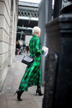 Street style at Lond