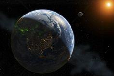 Lights on Earth - Fototapeten