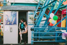 Coney Island Engagement Session from Kateryn Silva Photography