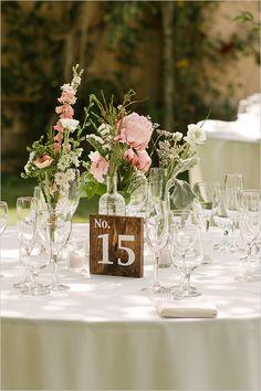 wooden table number #tablenumbers @weddingchicks