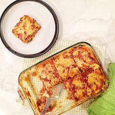 Zucchini Lasagna 21 Day Fix - 8 servings - 1 red, 1 green, 1 blue