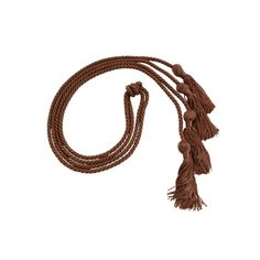 Double Graduation Cords - Cords and Stoles Beige