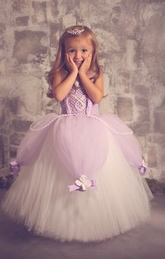 Sofia the First inspired dress!