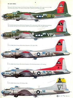 S14 USAAF Bomber Markings & Camo 1941-1945 Vol. 2 Page 23-960