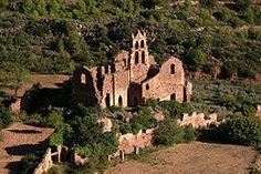 Parque natural del Desierto de las Palmas -Monasterio antiguo (en ruinas).