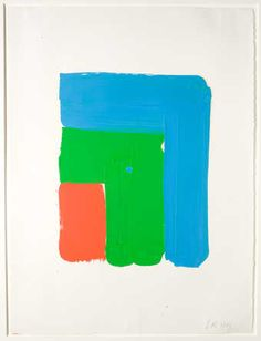 Ellsworth Kelly — Study for Red Green Blue 1964 (Walker Art Center) Abstract Expressionism, Abstract Art, Hard Edge Painting, Ellsworth Kelly, Cy Twombly, Walker Art, Colour Field, Josef Albers, Call Art