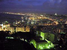 Alger at night
