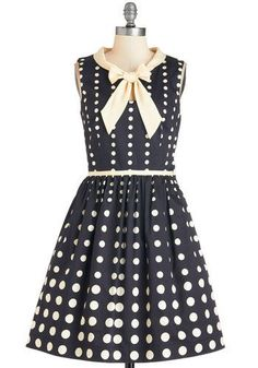 Retro 1960s Dress Plus Size: Peppy Personality Dress