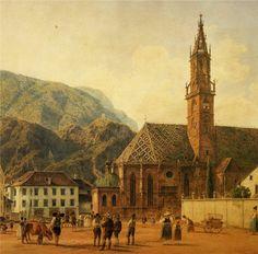 Igreja paroquial de Bolzano (Jakob Alt)