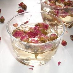 Rosewater Toner: for dry, acne prone skin  1:1 ratio of rosewater and vegetable glycerine  I recommend putting it in a glass spray bottle, and to make it extra refreshing, keep it in the refrigerator!