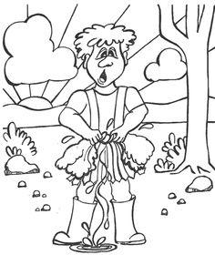 gideon coloring page kids korner biblewise gedeone_7gif 455540