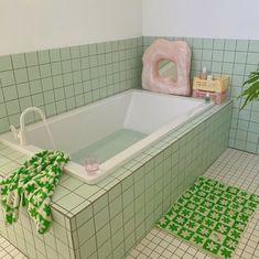 Pastel Bathroom, Pastel Room, Pastel House, Bathroom Inspo, Bathroom Interior, Dream Home Design, House Design, Pretty Room, Home Decor Ideas