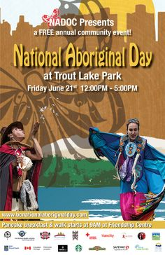 national aboriginal day canada, pictures | Annual Trout Lake National Aboriginal Day Celebrations