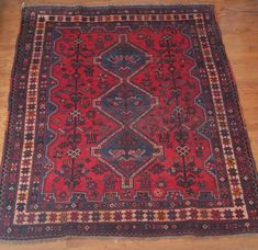 5' x 6' Vintage Kazak Persian Oriental Wool Hand Knotted Area Squares Rug #Caucasian