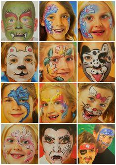 MAĽOVANIE NA TVÁR :: NajVecičky Face Painting Unicorn, Girl Face Painting, Face Painting Designs, Bohemian Sandals, Maquillage Halloween, Board Ideas, Facial, Halloween Face Makeup, Jar
