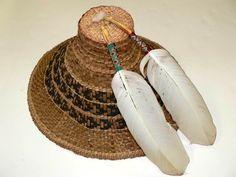 Coast Salish Art | West Coast Salish Cedar Bark Hat | Kindergarten Northern Cultures