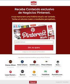Crie facilmente e rapidamente conteúdo visual deslumbrante e rentável. Inspiração que vende mais. Utilize Pinterest