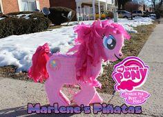 Mi pequeño Pony piñata Fluttershy Pinkie Pie por Marlenespinatas