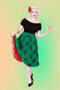 Fanny Skirt Green by Tatyana