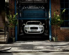 Bentley Continental Supersports Coupe finished in Ice