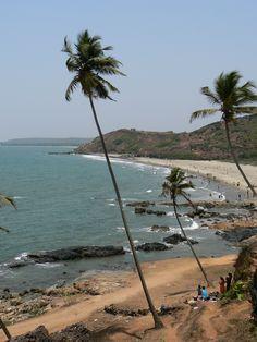 vagator beach, goa #TravelIndia
