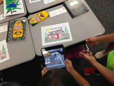 Two Guys and Some iPads: Augmented Reality to Inspire Creative Writing