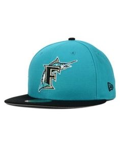 38aacacda9f18 New Era Florida Marlins MLB Cooperstown 59FIFTY Cap & Reviews - Sports Fan  Shop By Lids - Men - Macy's