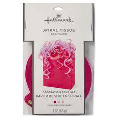 Hallmark Pink and Lavender Spiral Tissue Bag Filler at The Paper Store