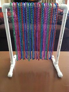 Bead pendulum.  Sensory activity