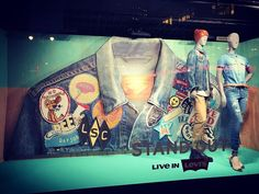 """MACY'S, New York, """"Western Vibrations... Stand Out"""", photo by Roya Sullivan, pinned by Ton van der Veer"""