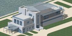 Auspitz navrh objektu (nerealizovane) Mansions, House Styles, Home Decor, Decoration Home, Manor Houses, Room Decor, Villas, Mansion, Home Interior Design