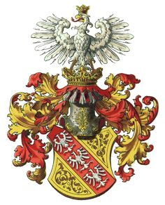 Coat of arms of the House of Lorraine - Category:Wappenrolle Österreich-Ungarns - Wikimedia Commons