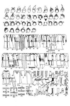 Male Sogdian clothing (5th-8th cent AD)